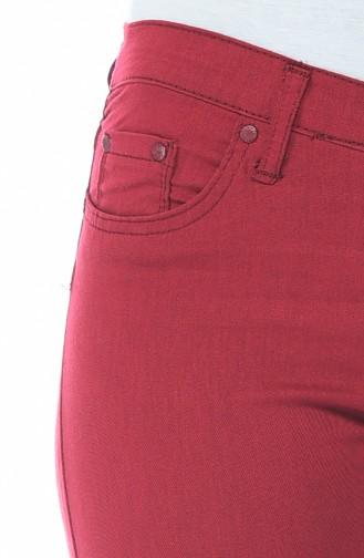 بنطال أحمر كلاريت 17059-04