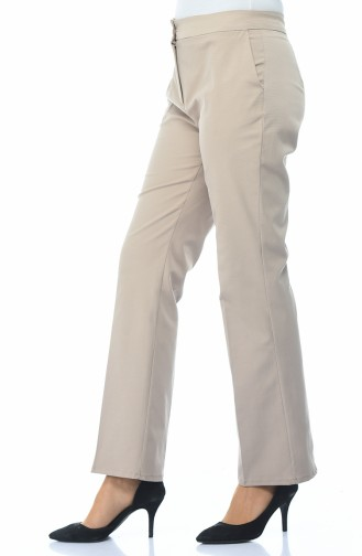 Hose mit Tasche 2081-01 Beige 2081-01
