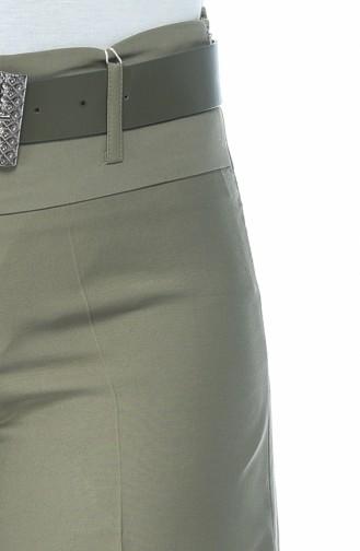 Hijab Pants Khaki Green 3069A-01