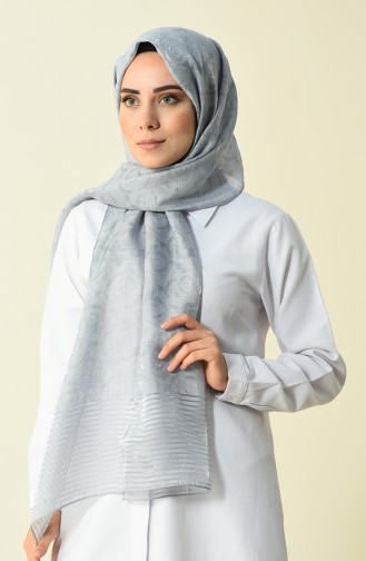 Armine Trend Rose Shawl Silver Gray 44050-03