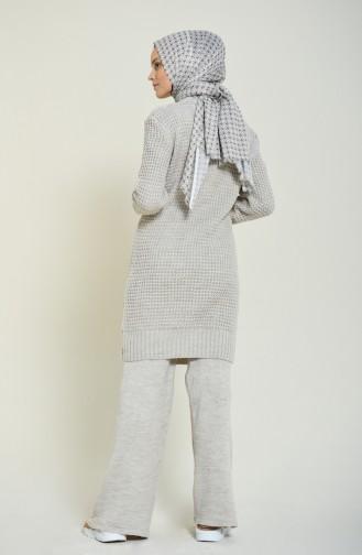 Triko Tunik Pantolon İkili Takım 1913-04 Bej