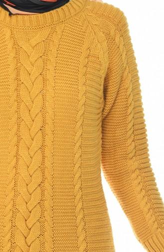 Mustard Dress 0933-02