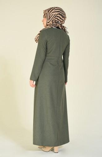 Khaki Dress 9113-04