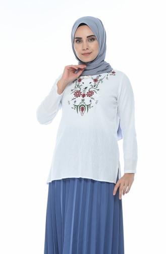 White Blouse 21213-04