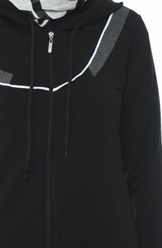 Abaya Sport 9100-01 Noir 9100-01
