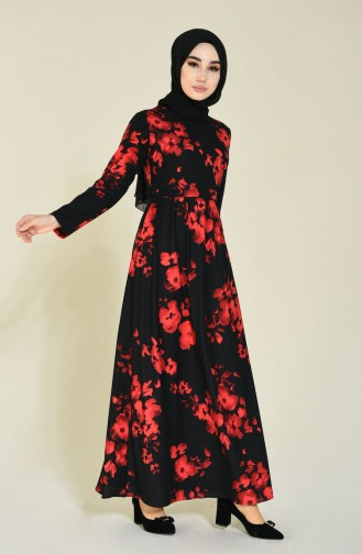 Rot Hijap Kleider 5113-01