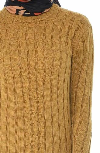 Trikot Langes Kleid   1920-03 Senf 1920-03