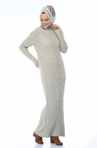 فستان تريكو طويل بيج 1920-05