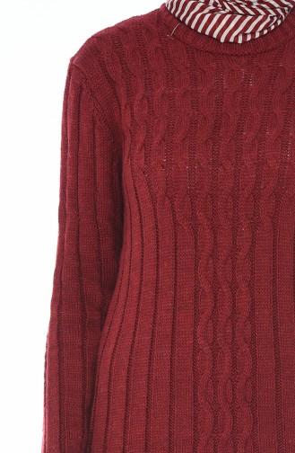 Trikot Langes Kleid 1920-06 Weinrot 1920-06