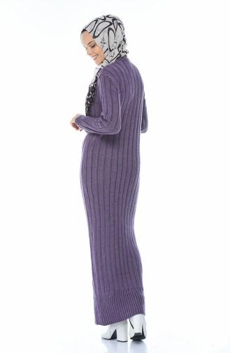 Longue Robe Tricot 1920-09 Pourpre 1920-09