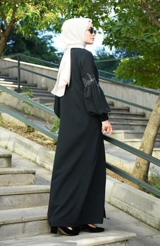 Black Abaya 8016-01
