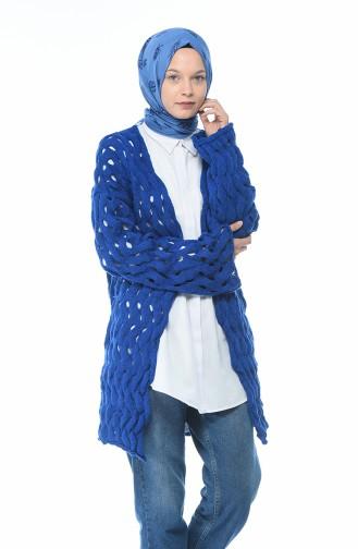 Gilet Tricot 7300-15 Bleu Roi 7300-15