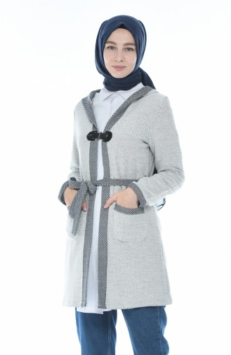 White Cardigan 1542-01