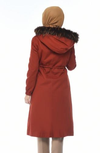 Tile Long Coat 4037-01