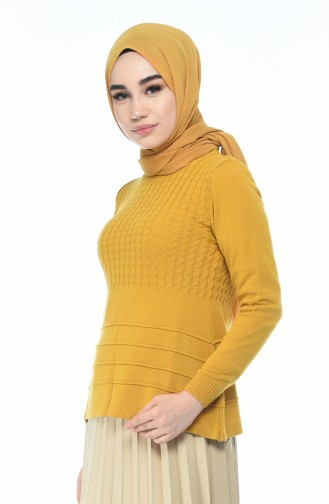 Triko Kazak 10011-09 Hardal 10011-09