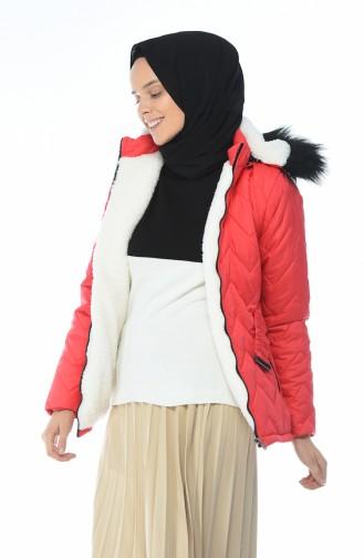 معطف مرجاني 1573-02