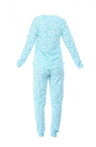 Ensemble Pyjama Pour Femme 712080-01 Bleu Clair 712080-01