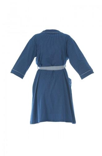 Dunkelblau Pyjama 906003