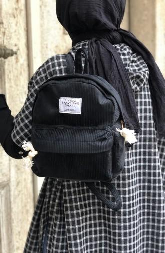 حقيبة ظهر نسائية أسود 05-01