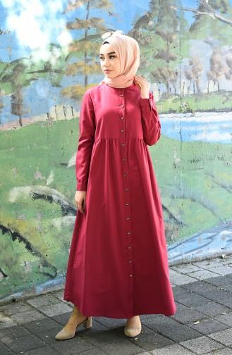 Fuchsia Hijap Kleider 5037-01