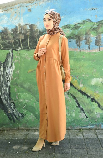 Robe Hijab Biscuit 5037-07