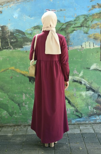 Zwetschge Hijap Kleider 5037-09