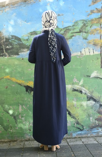 Navy Blue Dress 5037-10