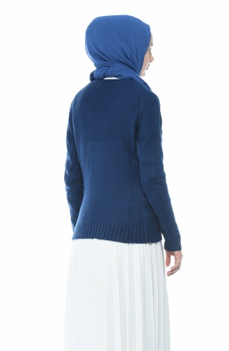Tricot Sweater Navy Blue 8021-02