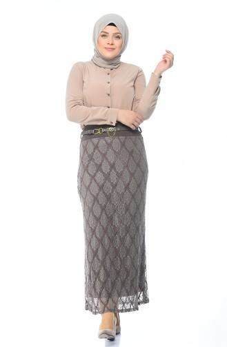 Mink Skirt 5K2502000-03