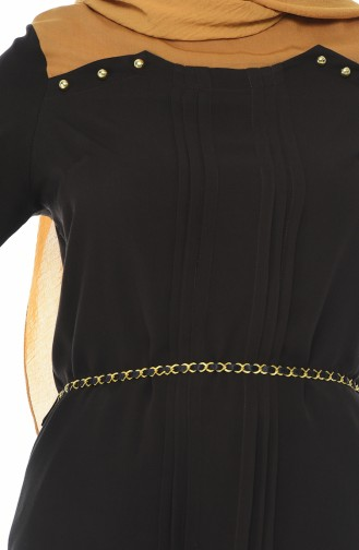 Dark Brown Overhemdblouse 3K6316100-03