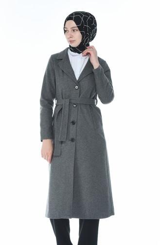 معطف شتوي بحزام بيج 8412-03