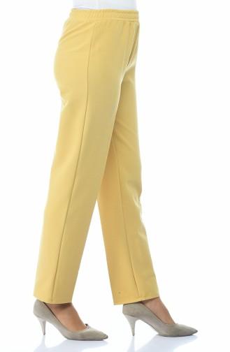 Beli Lastikli Pantolon 2105-15 Safran 2105-15