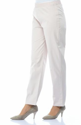 Pantalon Taille élastique 2122-01 Rose Pâle 2122-01