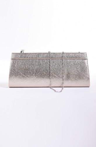 Dame Kristall Abendkleid Tasche 0508-01 Goldfarbig 0508-01