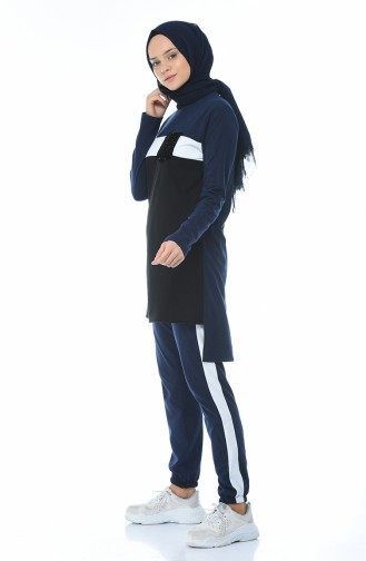 Navy Blue Sweatsuit 9047-05