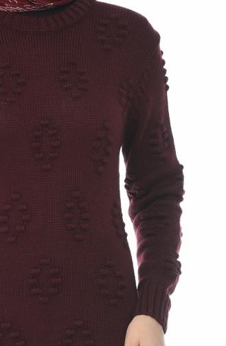 فستان تريكو كرزي 0930-06