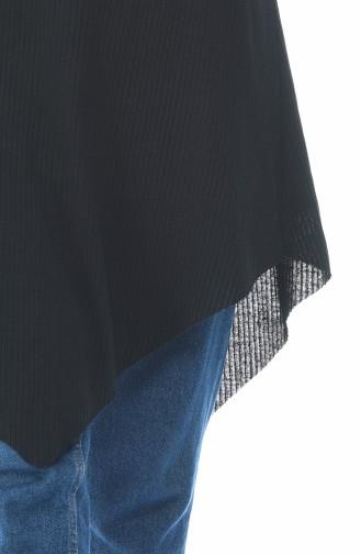 Asimetrik Tunik 2002-01 Siyah