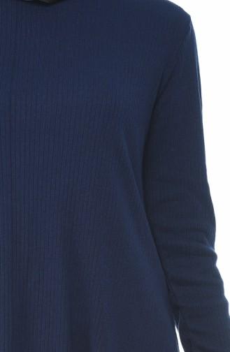 Asymmetrische Tunika 2002-03 Dunkelblau 2002-03