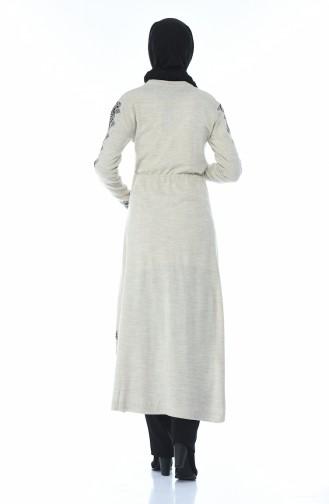 Tricot Long Tunic Beige 1900-04