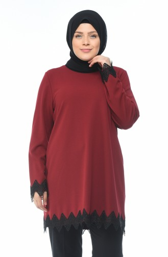 Claret red Tunic 6K6608602-01