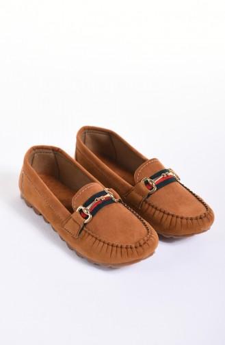 حذاء مسطح أخضر تبغ 2022-03