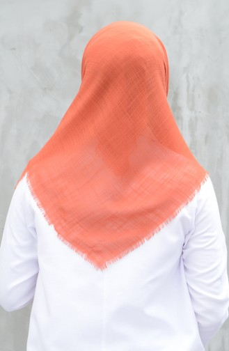Leinen Baumwolles Kopftuch  901529-15 Tabak 901529-15