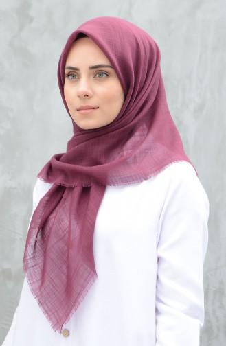 وشاح قطني سادة بلون الورد المجفف داكن 901529-21