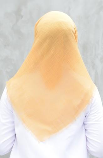 وشاح قطني سادة أصفر 901529-24