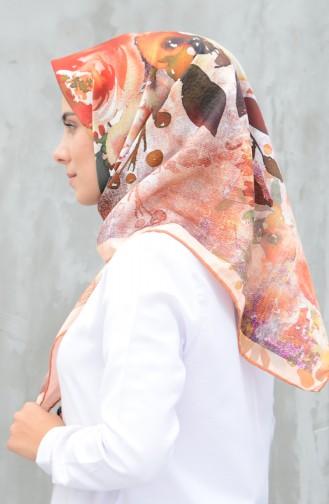 كاراجا وشاح حرير صناعي سومون 90598-12