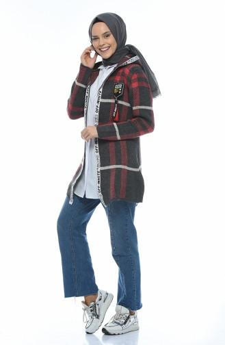 كادريجان تريكو بقبعة دخاني 1956-02