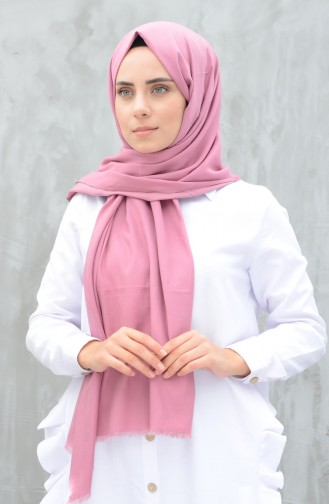 Woven Cotton Shawl Rose Dried 99248-01