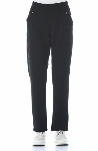 Pantalon Sport avec Poches 94017-03 Noir 94017-03