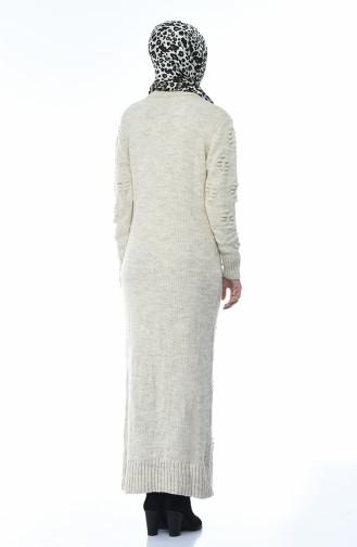 Tricot Dress Beige 0930-02