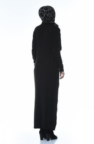Tricot Dress Black 0930-03